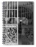The Dakota Gates In Black And White Spiral Notebook