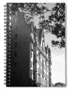 The Dakota In Black And White Spiral Notebook