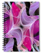 The Dancing Princesses Abstract Spiral Notebook