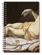 The Dead Christ Spiral Notebook