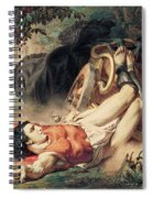 The Death Of Hippolyte Spiral Notebook