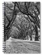 The Deep South Monochrome Spiral Notebook