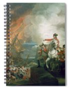 The Defear Of The Floating Batteries At Gibraltar Spiral Notebook