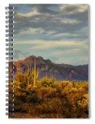 The Desert Golden Hour  Spiral Notebook