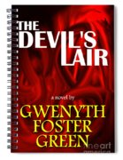 The Devil's Lair Book Cover Spiral Notebook