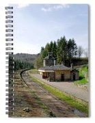 The Disused Alton Towers Railway Station Spiral Notebook