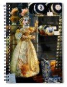 The Doll Salzburg Spiral Notebook