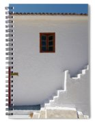 The Door Of The Chappel Spiral Notebook