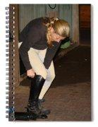 The Dressage Boots Spiral Notebook