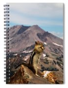 The Edge Of Glory Spiral Notebook