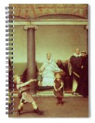 The Education Of The Children Of Clothilde And Clovis Spiral Notebook