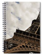 The Eiffel Tower Polarized Spiral Notebook