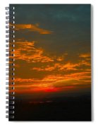 The Electric Sky  Spiral Notebook