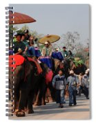 The Elephant Parade Spiral Notebook