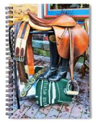 The English Saddle Spiral Notebook