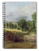 The Entrance To Fen Lane By Constable John Spiral Notebook