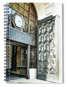 The Entranceway To Unilever House  Spiral Notebook