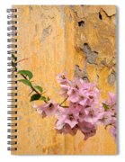 The Escaping Bougainvillea Spiral Notebook