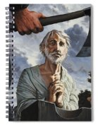 The Execution Of Walter Raleigh Spiral Notebook