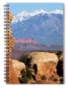 The Face Of Arches Spiral Notebook