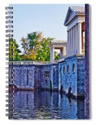 The Fairmount Waterworks In Philadelphia Spiral Notebook