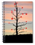 The Fall Of Love Spiral Notebook