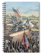 The Fall Of Petersburg To The Union Army 2nd April 1965 Spiral Notebook