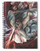 The Falling Figure Spiral Notebook