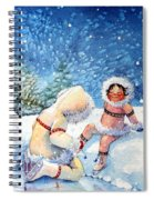 The Figure Skater 1 Spiral Notebook