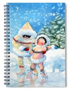 The Figure Skater 3 Spiral Notebook