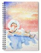 The Figure Skater 6 Spiral Notebook