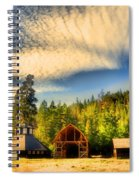 The Fintry Barns Spiral Notebook