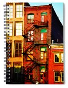 The Fire Escape Spiral Notebook