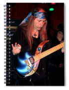 The Fire Of The Electric Sun Spiral Notebook