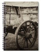 The First Station Wagons Spiral Notebook