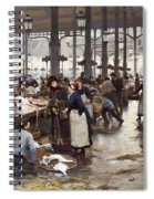 The Fish Hall At The Central Market  Spiral Notebook