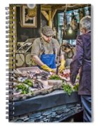 The Fish Monger Spiral Notebook