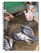 The Fish Seller Spiral Notebook