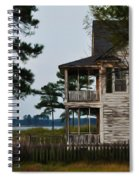 The Fishermans House Spiral Notebook