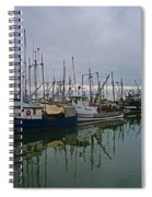 The Fishing Fleet Spiral Notebook
