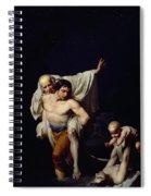 The Flood Spiral Notebook