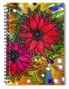 The Flowers In My Son's Garden Spiral Notebook