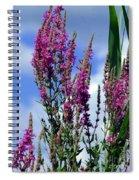 The Flowers Praise Him Spiral Notebook