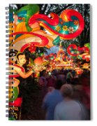 The Flying Apsaras Spiral Notebook