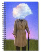 The Fool On The Hill Spiral Notebook