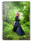 The Forest Beckons Spiral Notebook