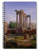 The Forum Rome  Spiral Notebook