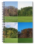 The Four Seasons Spiral Notebook