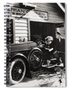 The Fourth Musketeer, 1923 Spiral Notebook