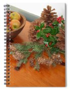 The Fragrance Of Christmas  Spiral Notebook